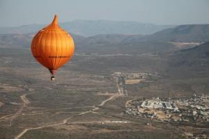 Dit is een foto van de Ui ballon
