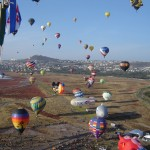 Ballonvaren in Leon (Mexico) 20 november 2012
