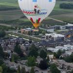 oostappen groep ballon