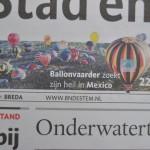 Ballonvaarder zoekt heil in Mexico